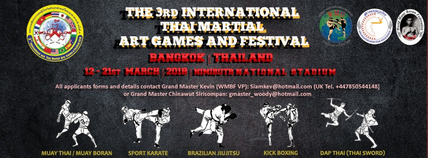 InternationalAndThaiMartialArtGames&Festival2018