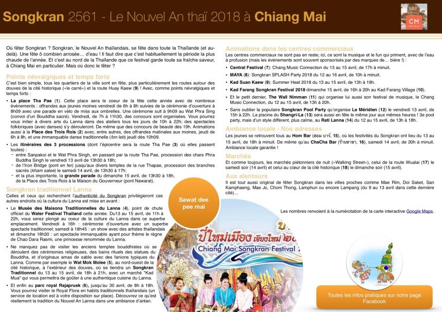 Songkran - Programme 2018 (CMdecidela)