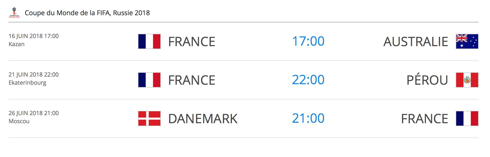 FIFA2018France