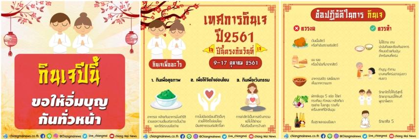 Festival Végétarien 2018 - Chiangmai News Line Montage 1