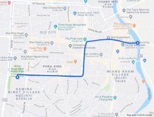 Google Maps Chiang Mai Flower Festival 2019 - La Fête des Fleurs