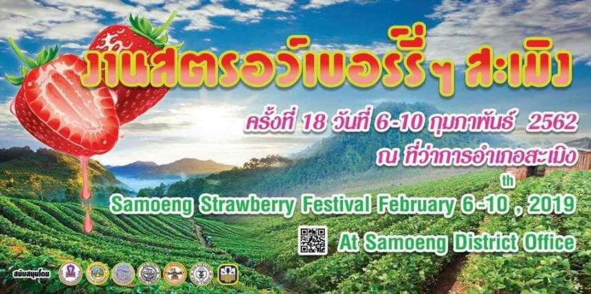 SamoengStrawberryFair2019Cover